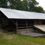 Exterior View of Activity Barn